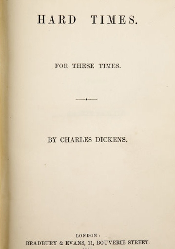 Competition and Co-operation in Charles Dickens' 'HardTimes'